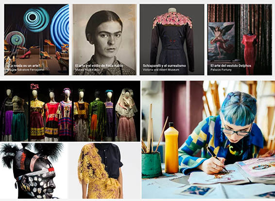 Google Art: ventana virtual al mundo de la moda